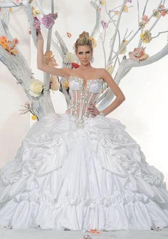Wedding Dress #01009