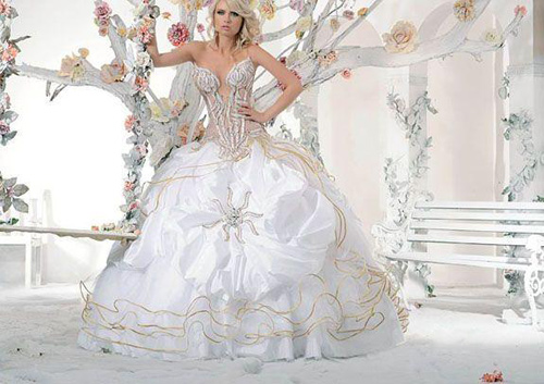 Wedding Dress #01020