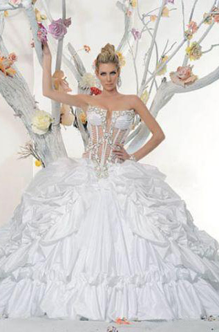 Wedding Dress #01022